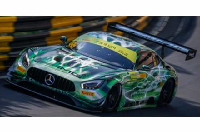 [予約] スパーク 1/64 メルセデス AMG GT3 FIA GT ワールドカップ マカオ 2019 Winner No.999 Y165