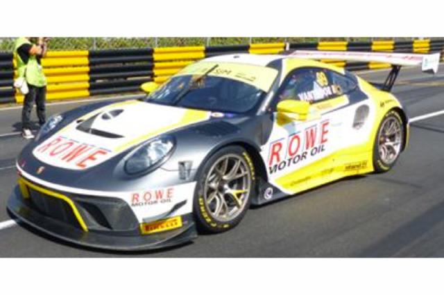 [予約] スパーク 1/64 ポルシェ 911 GT3 R FIA GT ワールドカップ マカオ 2019 2nd No.99 Y166