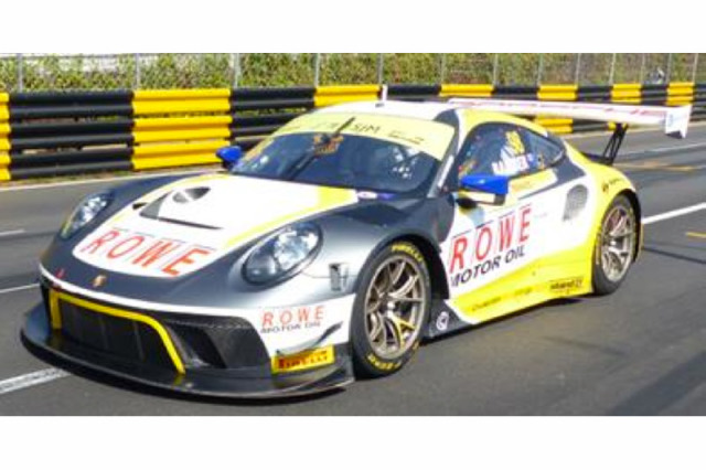 [予約] スパーク 1/64 ポルシェ 911 GT3 R FIA GT ワールドカップ マカオ 2019 3rd No.98 Y167