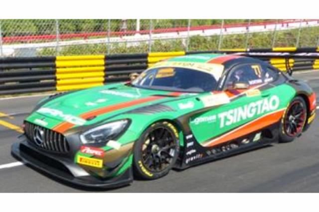 [予約] スパーク 1/64 メルセデス AMG GT3 FIA GT ワールドカップ マカオ 2019 6th No.77 Y168
