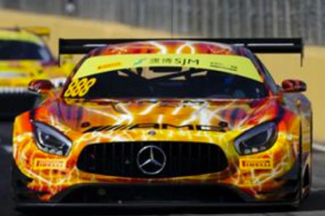 [予約] スパーク 1/64 メルセデス AMG GT3 FIA GT ワールドカップ マカオ 2019 9th No.888 Y169