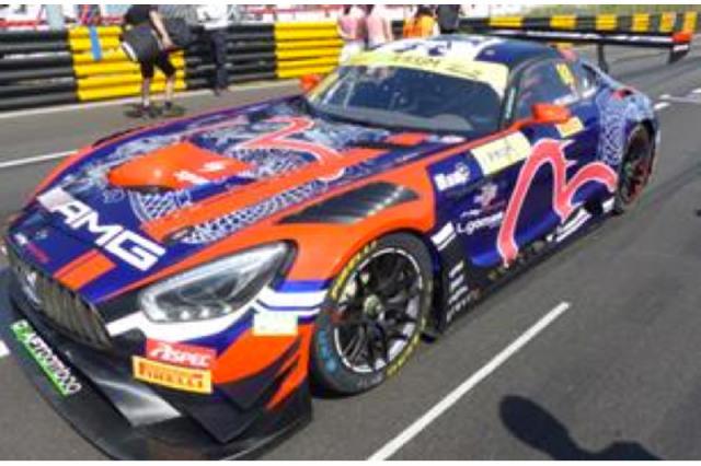 [予約] スパーク 1/64 メルセデス AMG GT3 FIA GT ワールドカップ マカオ 2019 No.88 Y170