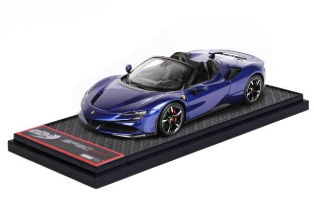 [予約] BBR 1/43 フェラーリ SF90 スパイダー エレクトリックブルー BBRC244B