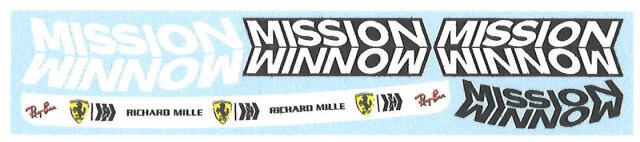 """ミュージアムコレクション 1/2 ヘルメット C.ルクレール """"MISSON WIMNOW"""" 2021 MC-D1016"""