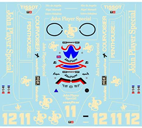 ミュージアムコレクション 1/20 ロータス 91 オーストラリアGP フルスポンサーデカール エブロ対応 MC-D838