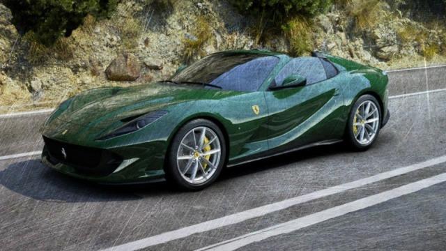 [予約] ルックスマート 1/43 フェラーリ 812 GTS アベトーングリーン LS516L