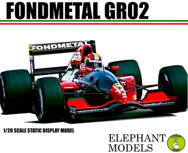 エレファントモデル 1/20 3Dプリントキット フォンドメタル GR2 1992 EM2001