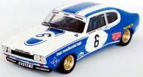 [予約] トロフュー 1/43 フォード カプリ 2600 RS ハラマ 4h 1975 No.6 RRes01