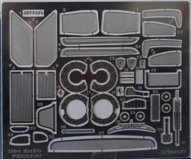 スタジオ27 1/24 エンツォ フェラーリ ディティールアップパーツ タミヤ対応 FP2464R