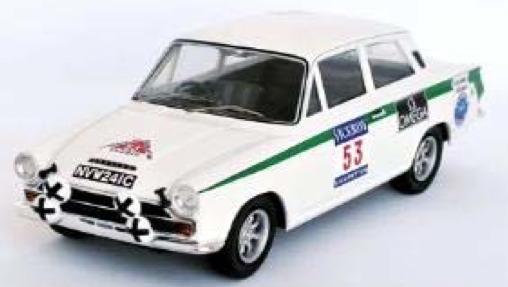 [予約] トロフュー 1/43 フォード ロータス コルティナ 1000湖ラリー 1966 No.53 RRfi07