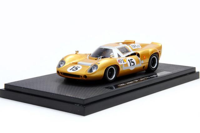 エブロ 1/43 ローラ T70 Mk.2 日本GP 1967 No.15 44439 44439