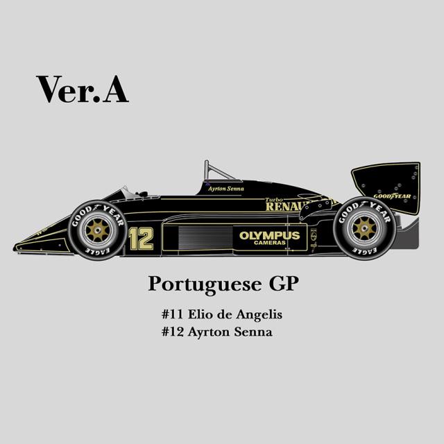 モデルファクトリーヒロ 1/12 フルディティールメタルキット ロータス 97T ポルトガルGP 1985 K346