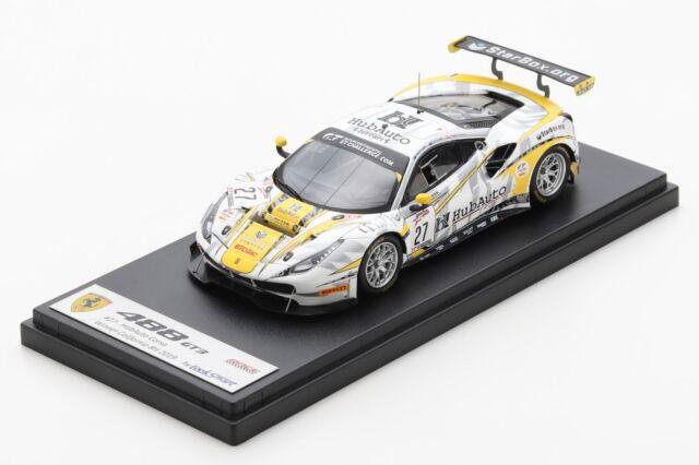 [予約] ルックスマート 1/43 フェラーリ 488 GT3 カリフォルニア 8h 2019 No.27 ウィナー LSRC067
