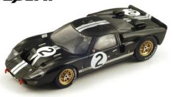 [再生産予約] スパーク 1/18 フォード GT40 Mk.2 ルマン 24h 1966 Winner No.2 18LM66