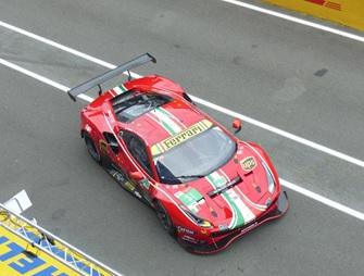 [予約] ルックスマート 1/43 フェラーリ 488 GTE Evo ルマン 2021 AF Corse LMGT-Pro 1st No.51 LSLM121