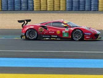 [予約] ルックスマート 1/43 フェラーリ 488 GTE Evo ルマン 2021 AF Corse No.52 LSLM122