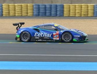 [予約] ルックスマート 1/43 フェラーリ 488 GTE Evo ルマン 2021 Cetilar Racing No.47 LSLM123
