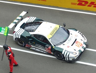 [予約] ルックスマート 1/43 フェラーリ 488 GTE Evo ルマン 2021 Spirit of Race No.55 LSLM125