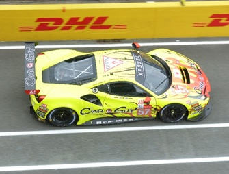[予約] ルックスマート 1/43 フェラーリ 488 GTE Evo ルマン 2021 Kessel Racing No.57 LSLM126