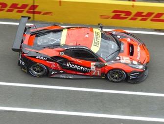 [予約] ルックスマート 1/43 フェラーリ 488 GTE Evo ルマン 2021 Inception Racing No.71 LSLM129