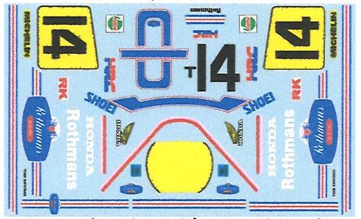 ミュージアムコレクション 1/12 ホンダ NS500 1985 片山 ホワイト ロスマンズ (タミヤ対応) MC-D695
