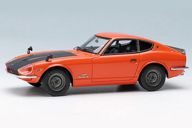 ヴィジョン 1/43 ニッサン フェアレディ Z432R (PS30SB) 1969 オレンジ (スチールホイール) VM120A VM120A