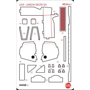 プラッツ PLATZ 1/24 ランチア デルタ S4 サンレモラリー 1986 ディティールアップパーツ (プラッツ/NuNu対応) NE24007