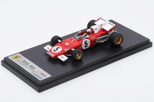 ルックスマート 1/43 フェラーリ 312 B2 ドイツGP 1971 4th M.アンドレッティ LSRC028 LSRC028