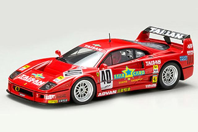 エブロ 1/43 タイサン フェラーリ F40 JGTC 1995 No.40 43952 43952