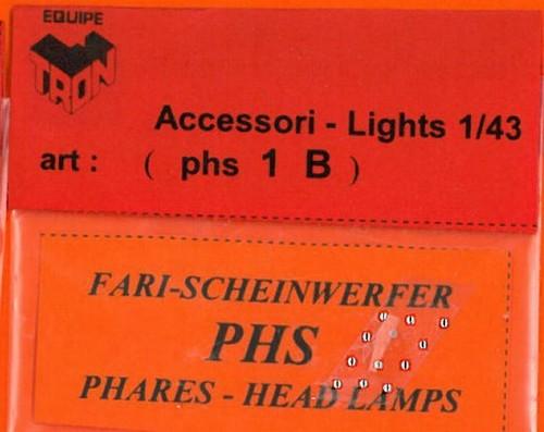 トロン ライトレンズ クリアー 丸形 1mm 12個入り phs01B