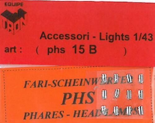 トロン ライトレンズ クリアー 長方形 3x2mm 12個入り phs15b