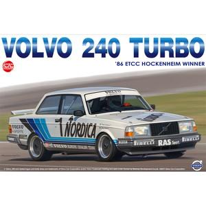 プラッツ/nunu 1/24 プラモデル ボルボ 240 ターボ ETCC ホッケンハイム 1986 No.1 ウィナー PN24013