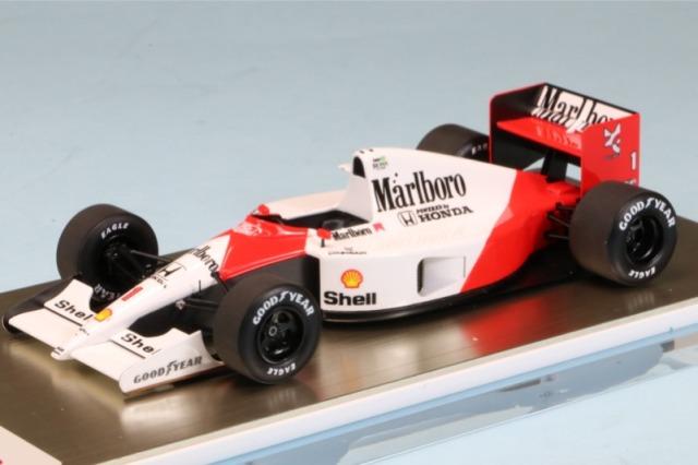 アイドロン 1/43 マクラーレン ホンダ MP4/6 USA GP 1991 No.1 A.セナ ウィナー デカール加工品 FE038AS FE038AS