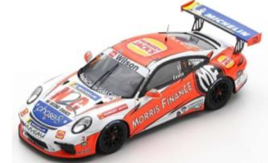 [予約] スパーク 1/43 ポルシェ 911 GT3 カップ カレラカップ オーストラリア 2018 No.7 AS032