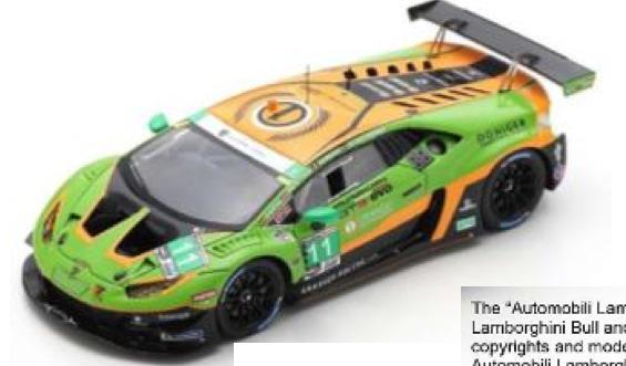 [予約] スパーク 1/43 ランボルギーニ ウラカン Evo GT3 デイトナ 2020 No.11 US132