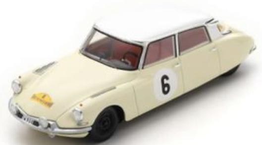 [予約] スパーク 1/43 シトロエン DS19 ラリー ルート デュ ノール 1963 No.6 SF230