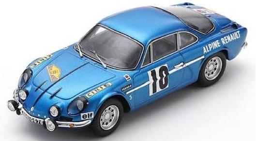 [予約] スパーク 1/43 アルピーヌ A100 ラリー ルート デュ ノール 1963 No.10 SF231