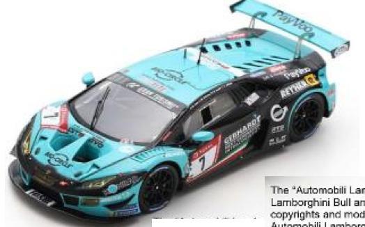 [予約] スパーク 1/43 ランボルギーニ ウラカン GT3 Evo ニュル 24h 2019 No.7 SG576