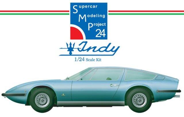 [予約] SMP24 レジンキット マセラティ インディ 1969-1974 SMP24022