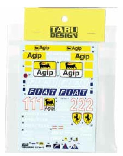 タブデザイン 1/12 フェラーリ 641/2 1990 フルスポンサーデカール (タミヤ対応) TABU-12056