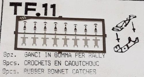 トロン 1/43 キャッチピン C ボンネット 他 tf011