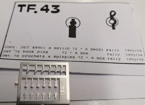 トロン 1/43 キャッチピン A ラリーカー 他 tf43