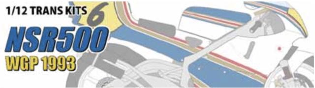 スタジオ27 1/12 トランスキット ホンダ NSR 500 WGP 1993 Rothmans (タミヤ NSR500 1998 対応) TK1251