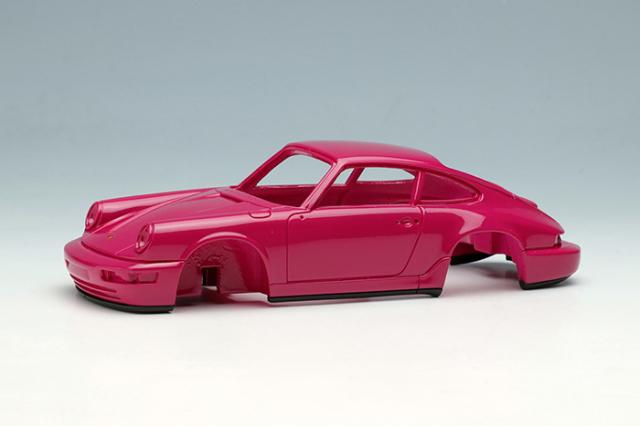 [予約] ヴィジョン 1/43 ポルシェ 911(964) カレラ RS 1992 (RUFホイール) ルビーストーンレッド (限定50台、国内販売25台) VM149B
