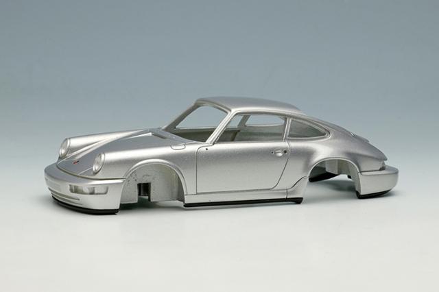 [予約] ヴィジョン 1/43 ポルシェ 911(964) カレラ RS 1992 (RUFホイール) シルバー (限定50台、国内販売25台) VM149C