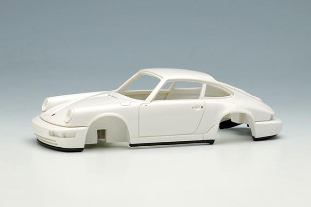 [予約] ヴィジョン 1/43 ポルシェ 911(964) カレラ RS 1992 (RUFホイール) ホワイト (限定50台、国内販売25台) VM149D