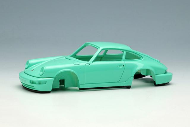 [予約] ヴィジョン 1/43 ポルシェ 911(964) カレラ RS 1992 (RUFホイール) ミントグリーン (限定50台、国内販売25台) VM149E
