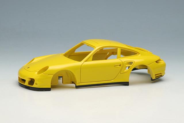 [予約] ヴィジョン 1/43 ポルシェ 911 (997) ターボ 2006 スピードイエロー VM190B