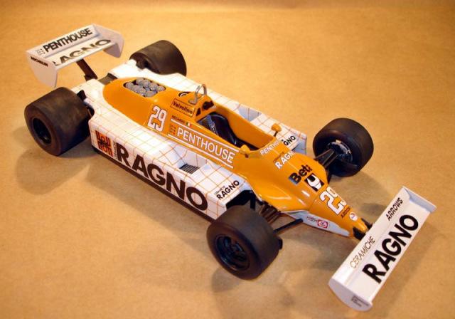 ウルフモデル 1/20 レジンキット アロウズ A3 ロングビーチ 1981 GP20013