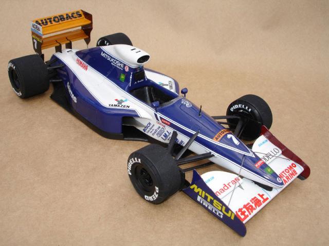 ウルフモデル 1/20 レジンキット ブラバム BT60Y 日本GP 1991 GP20056